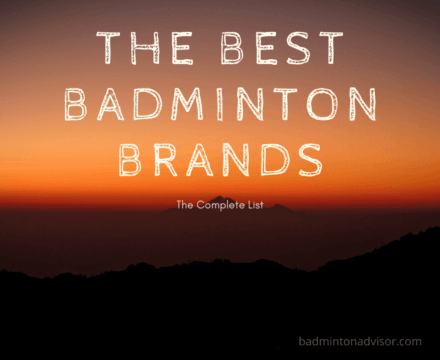 the best badminton brands