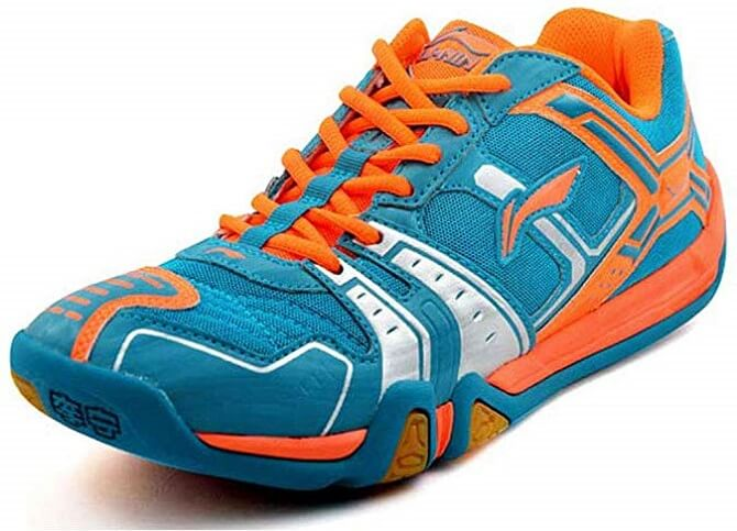 LI-NING Men Badminton Training Professional Badminton Non Slip Sneakers